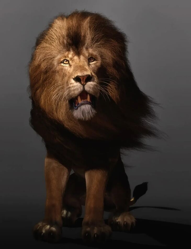 Felidae by AM - Lion - dForce Addon