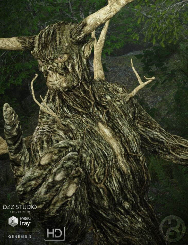 Forest King for Genesis 3 Male