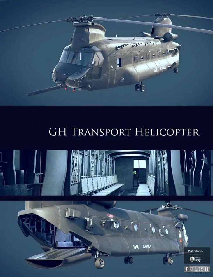 GH Transport Helicopter