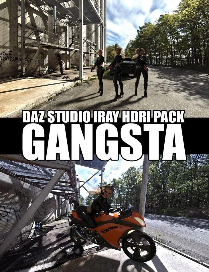 Gangsta - DAZ Studio Iray HDRI Pack