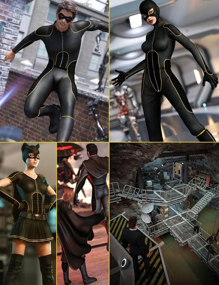 Genesis 3 Superhero Bundle