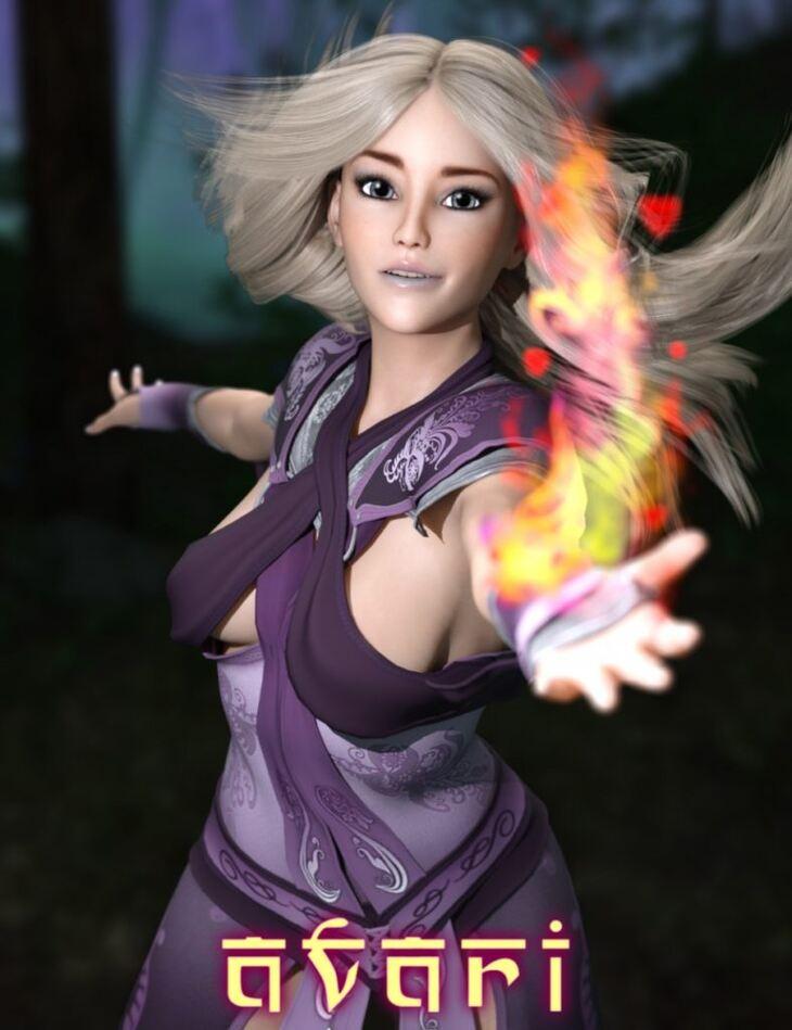 HP Avari with Spells for Izabella 7