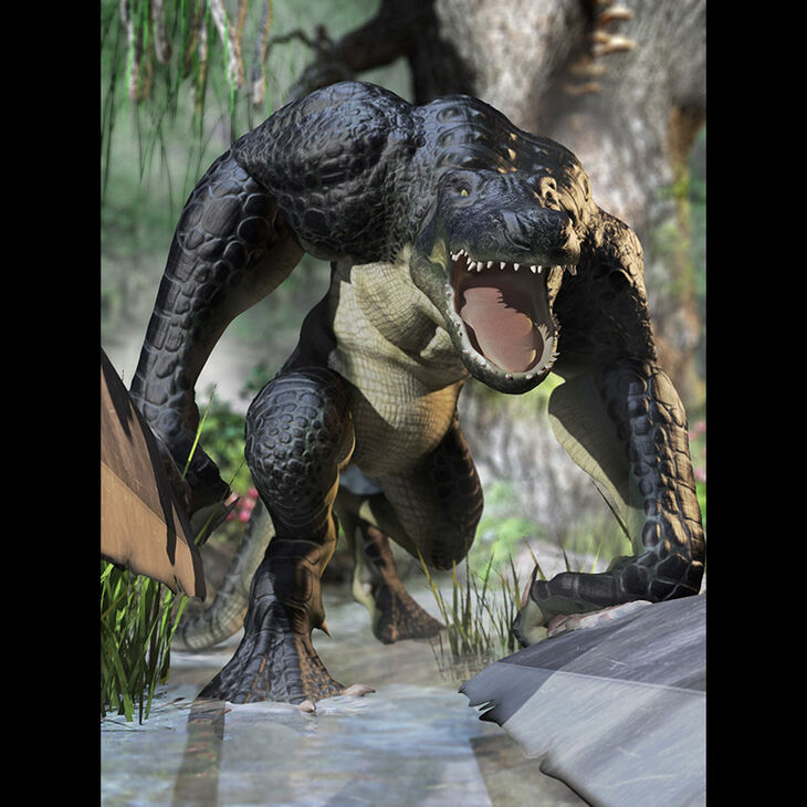 Hal Patterson: Alligator Man