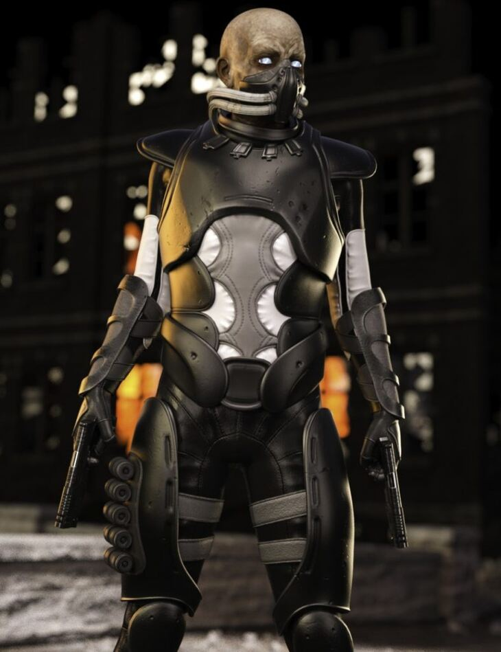 Heavy Soldier Outfit for Genesis 3 Male(s)