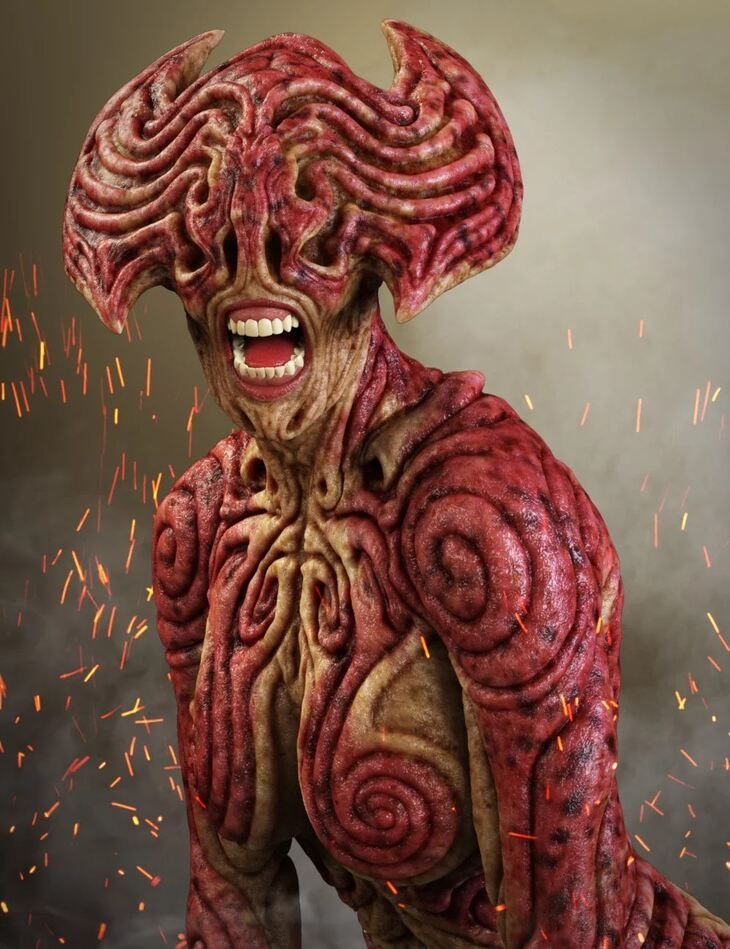 Hell Ambassador HD for Genesis 8 Female