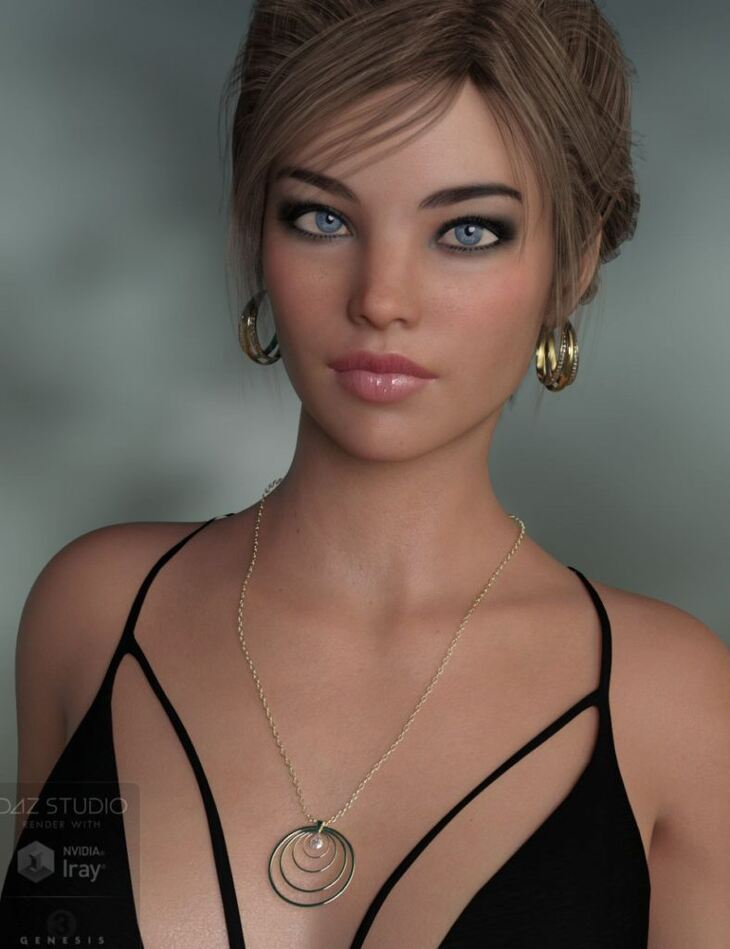 Hoops Jewelry for Genesis 8 Female(s)