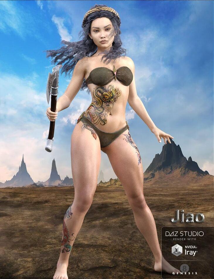 Jiao for Genesis 8 Female