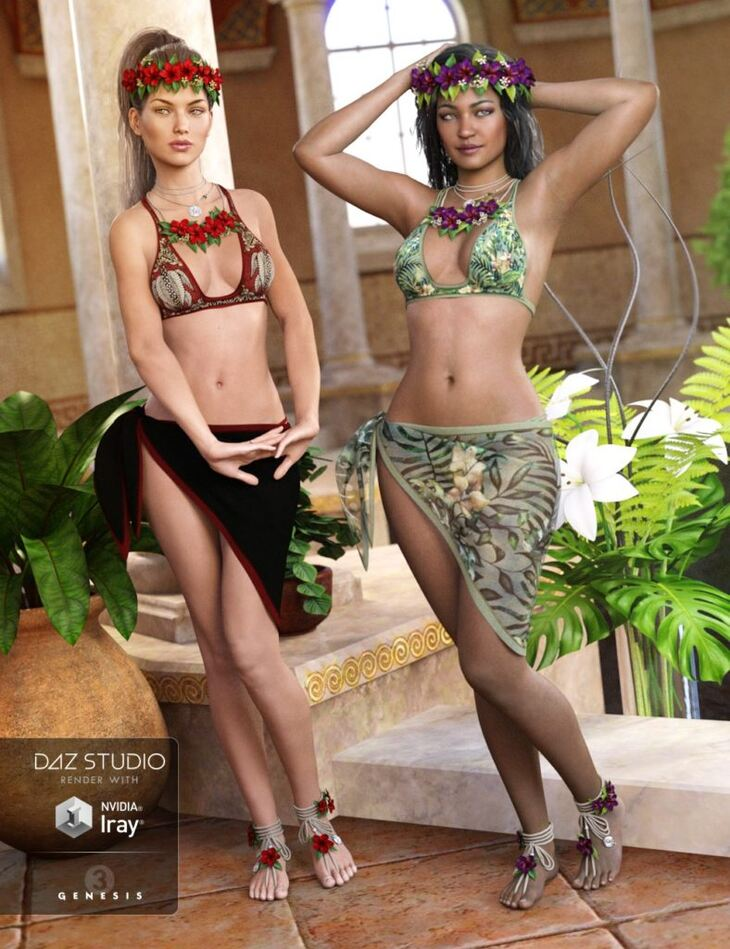 Kailani Outfit Textures