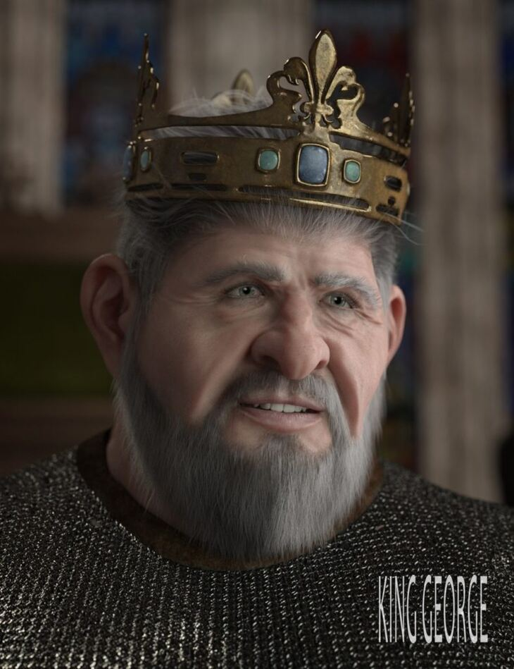 King George HD for Genesis 8 Male