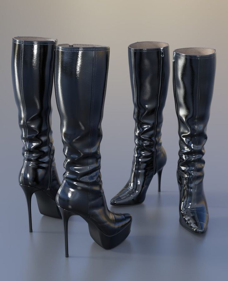 Knee Boots For G3F