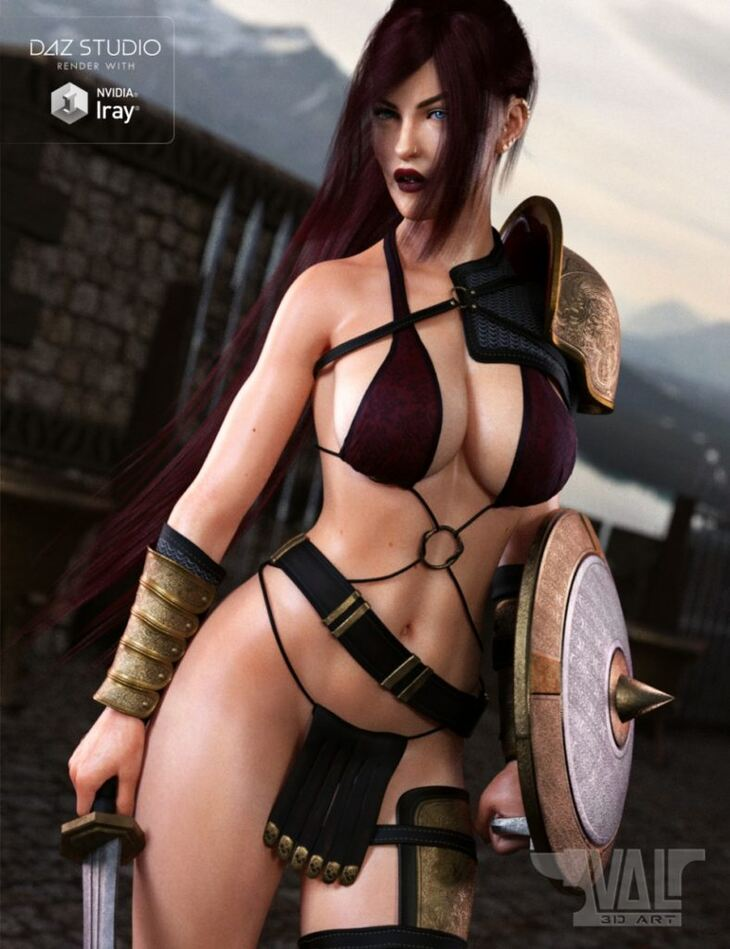 Kyra Fantasy Outfit for Genesis 8 Female(s)
