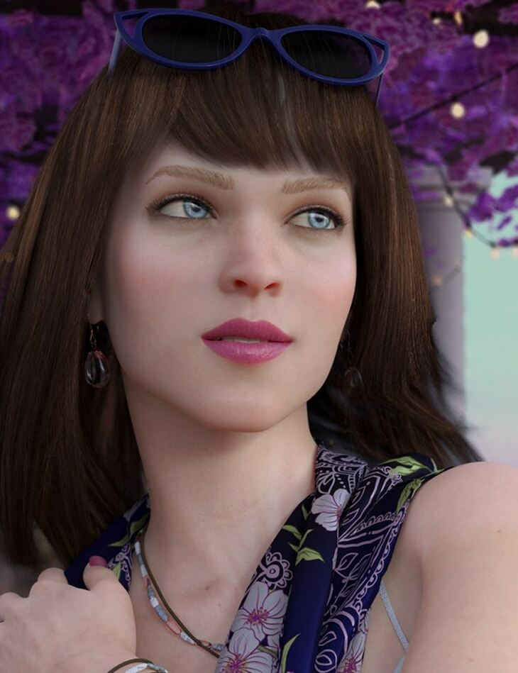 LY Mira Gray HD for Genesis 8 Female