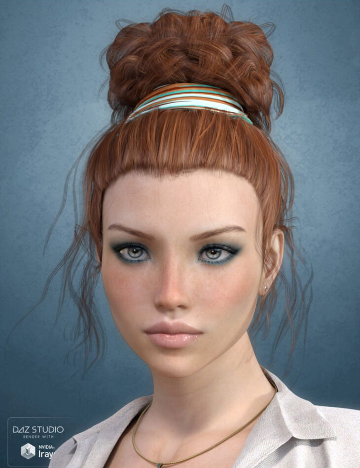 Lauran Hair for Genesis 3 Female(s)