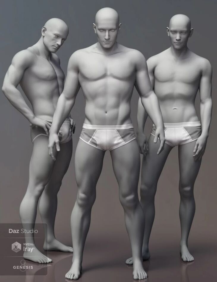 Leading Male Morph Collection for Genesis 8 Male(s)