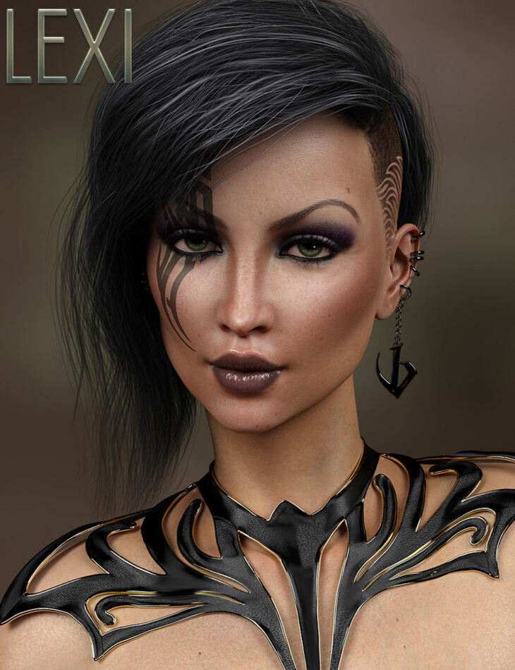 Lexi for Genesis 8 Female