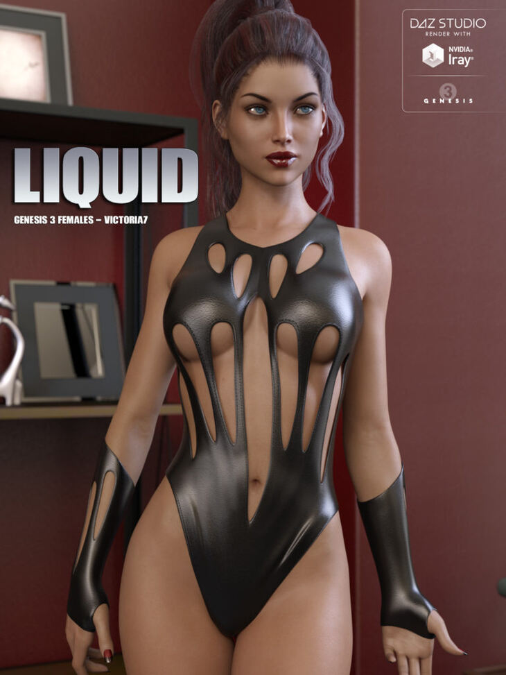 Liquid Outfit for Genesis 3 Females