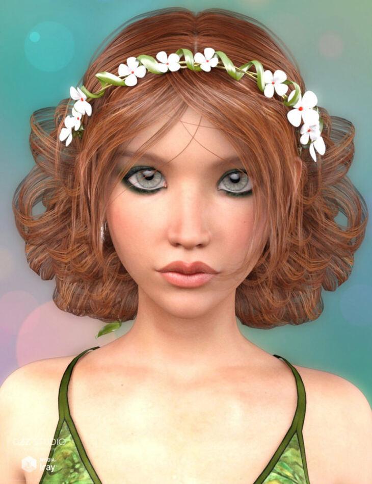 Lorin Hair for Genesis 3 Female(s)