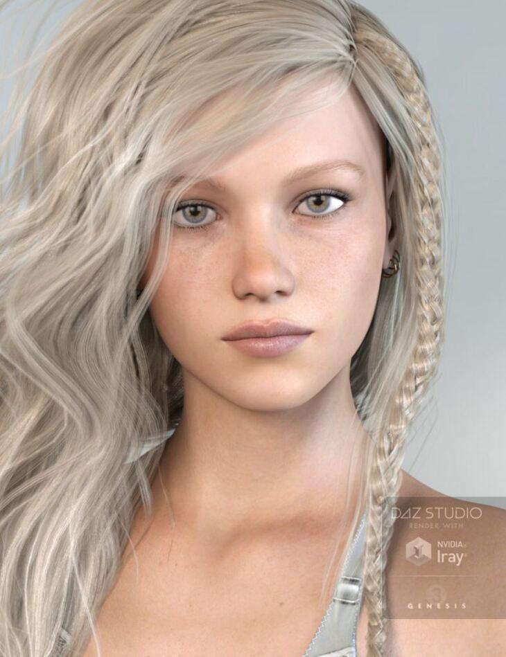 MRL Willow for Genesis 3 Female