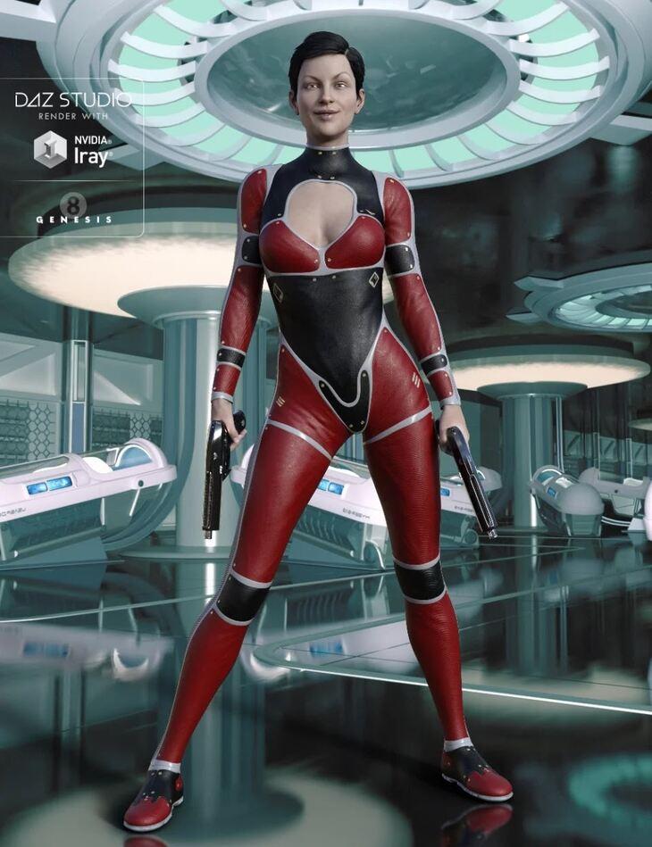 Mace Assassin for Genesis 8 Female(s)