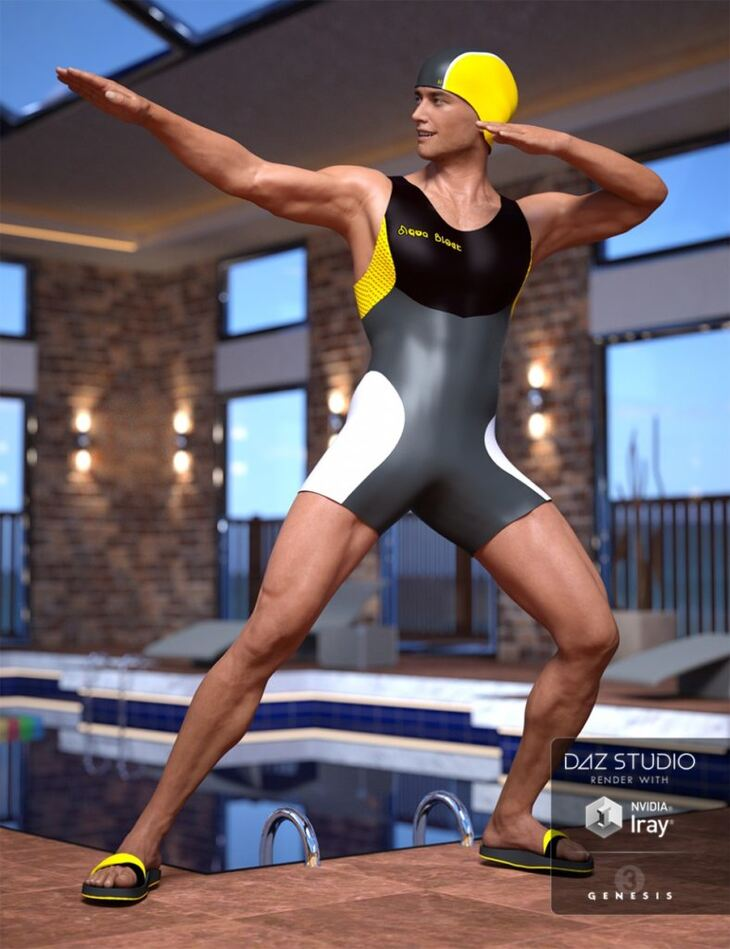 Male Swimsuit for Genesis 3 Male(s)