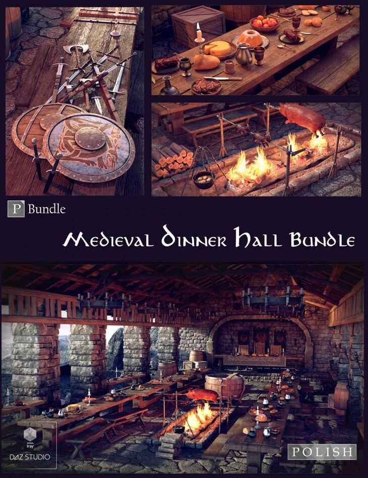 Medieval Dinner Hall Bundle