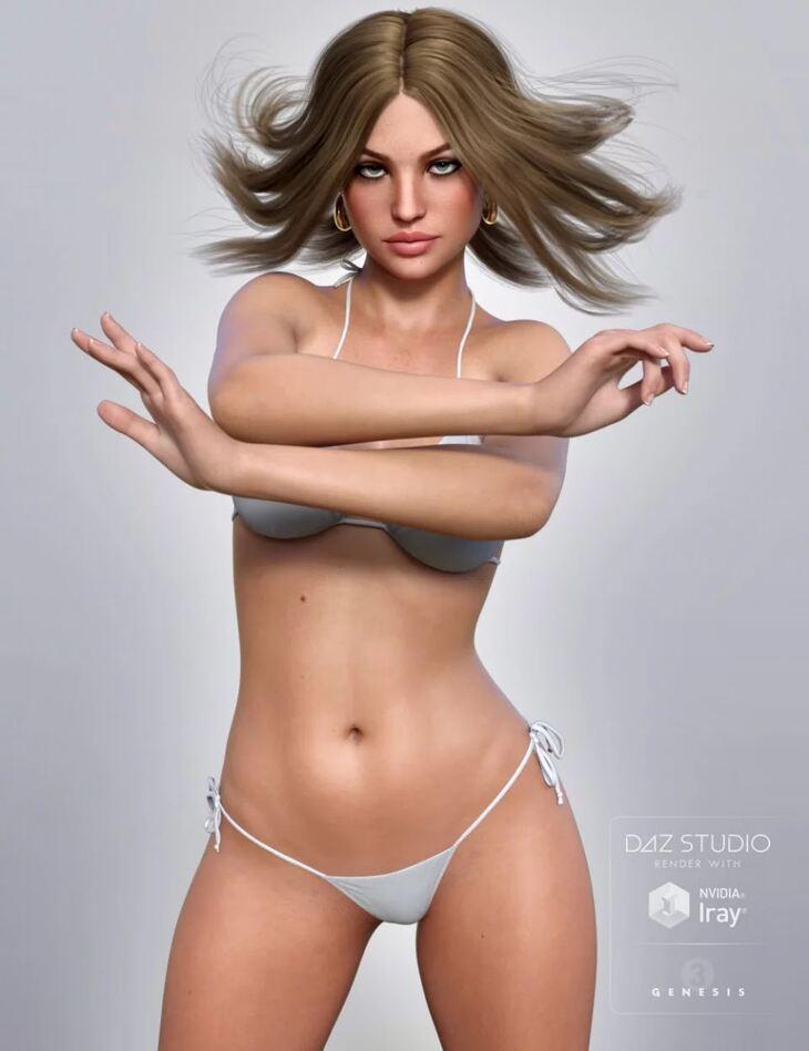 Mila For Genesis 3 Female(s)