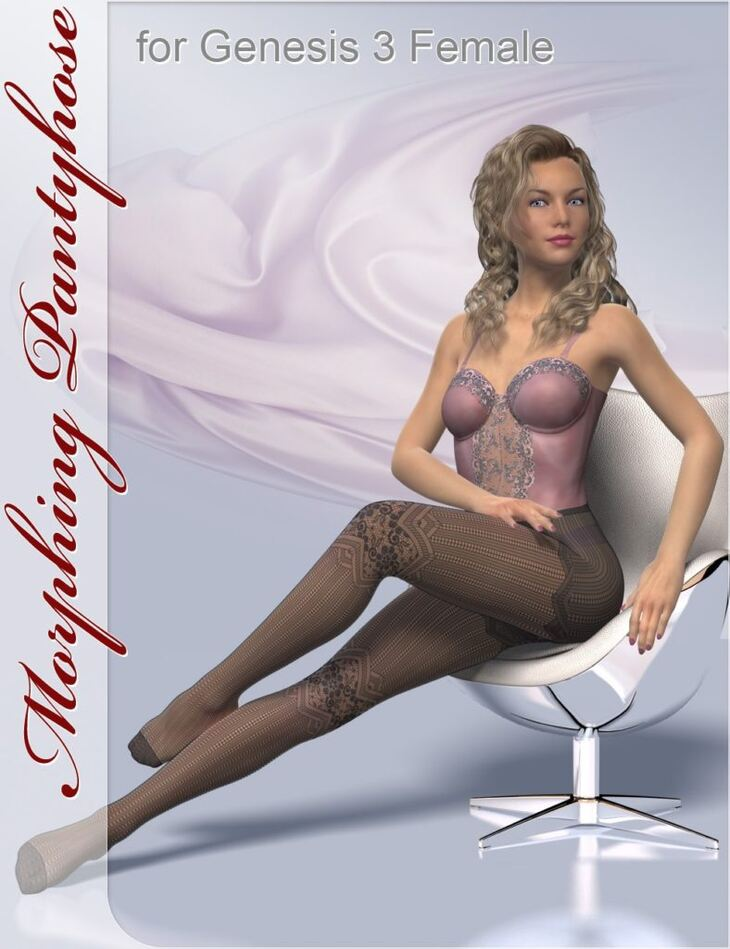 Morphing Pantyhose for Genesis 3 and 8 Female(s)