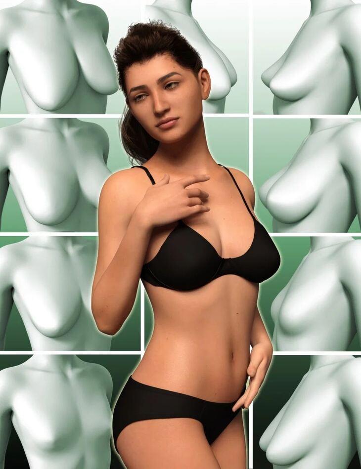 Natural Breast Morphs for Genesis 8 Female(s)