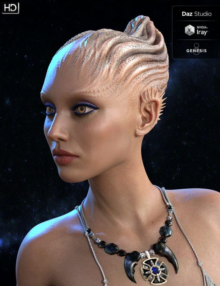 Neeya HD for Genesis 8 Female