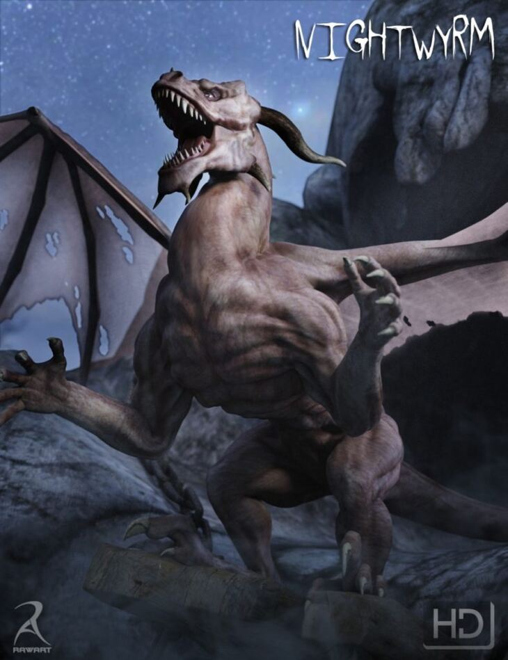 NightWyrm - The Vampire Dragon HD