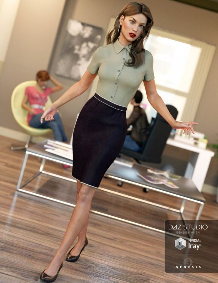 Office Wear for Genesis 3 Female(s)