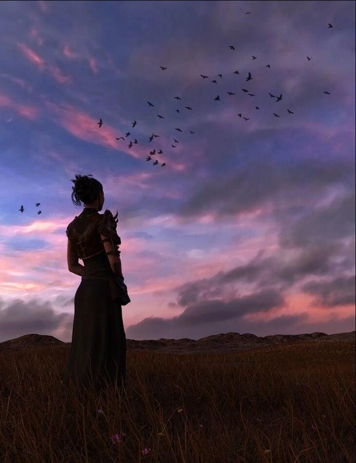 Orestes Iray HDRI Skydomes - Witches Twilight