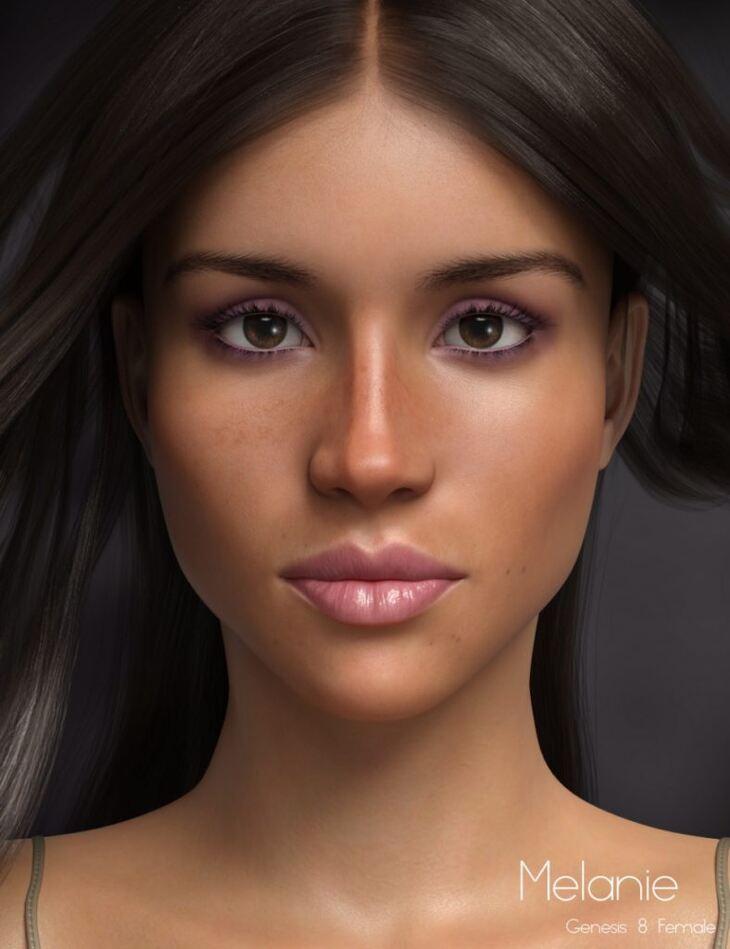 P3D Melanie HD for Genesis 8 Female