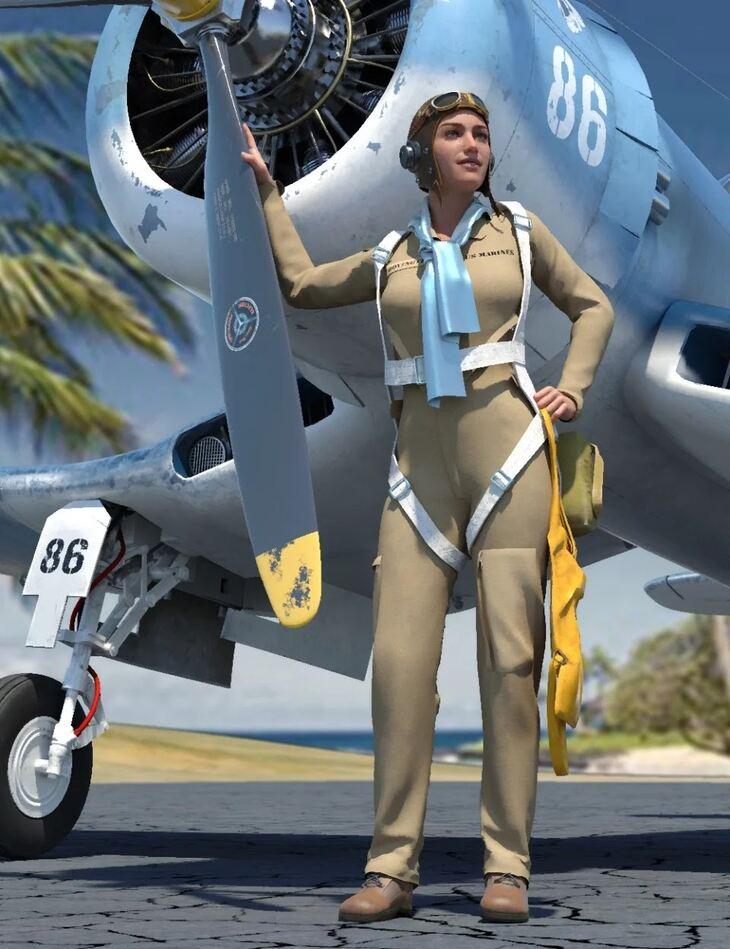 Pilots Uniform of WWII