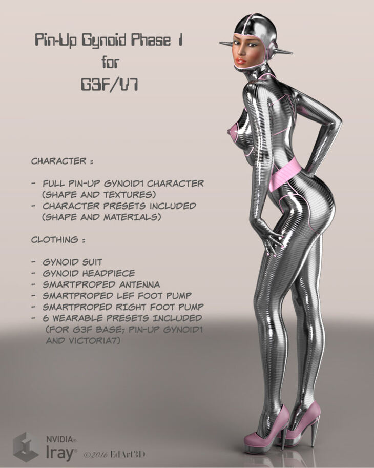 Pin-Up Gynoid Phase1 for G3F/V7