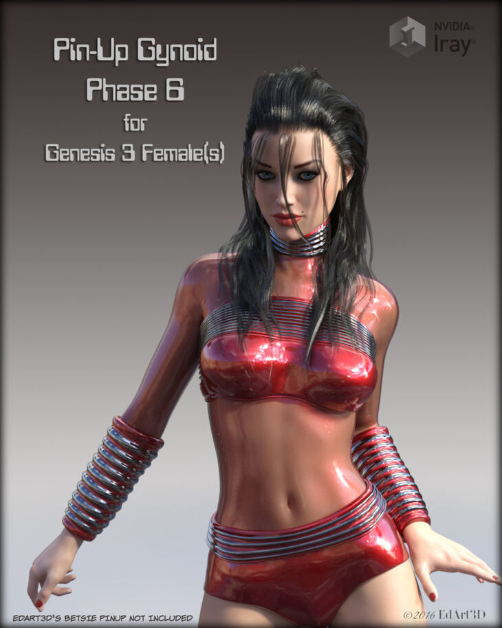 Pin-Up Gynoid Phase6 for G3F
