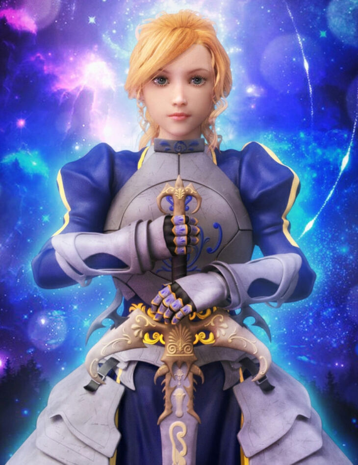Rin Anime Armor for G3F