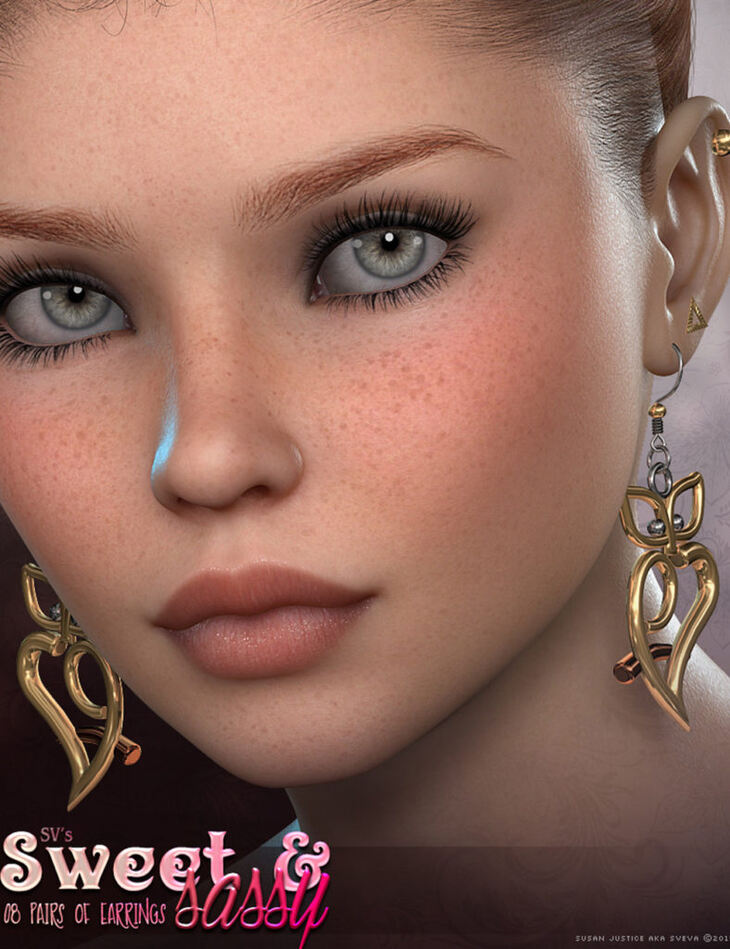 SV's Sweet & Sassy Earrings