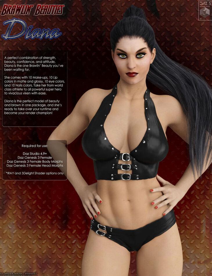 SWD Brawlin' Beauties: Diana