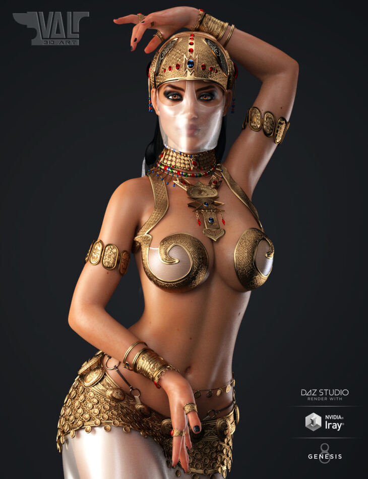 Salome II for Genesis 8 Female