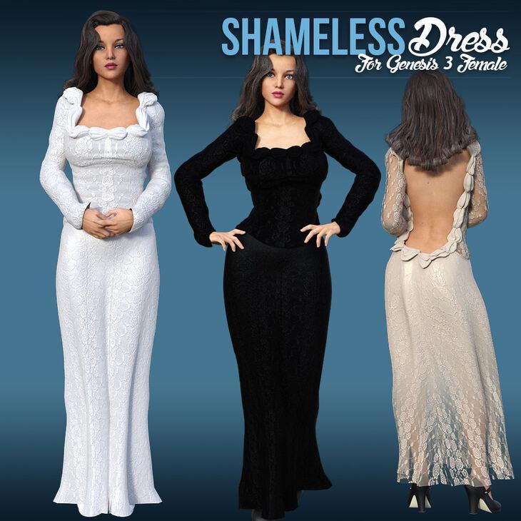 Shameless Dress for G3 Females