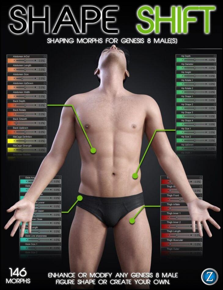 Shape Shift for Genesis 8 Male(s)