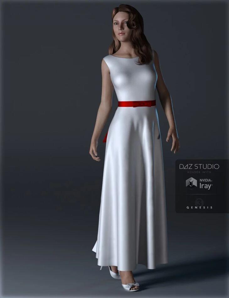 Simple Dresses Genesis 3 Female(s)