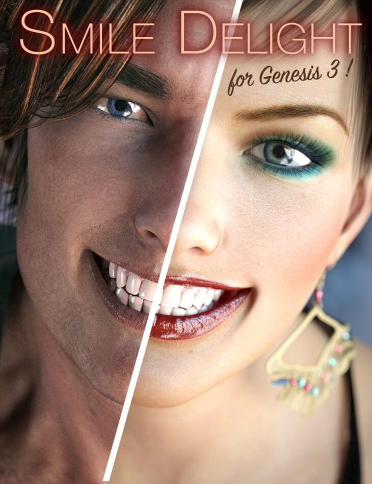 Smile Delight for Genesis 3 Bundle