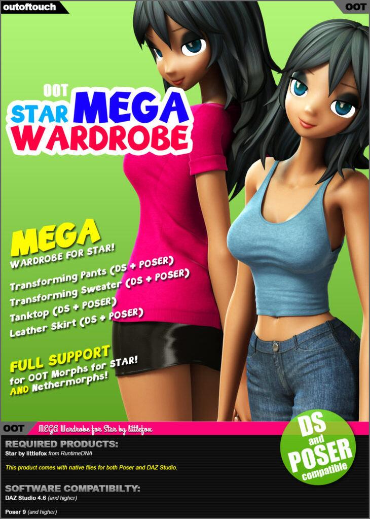 Star's MEGA Wardrobe