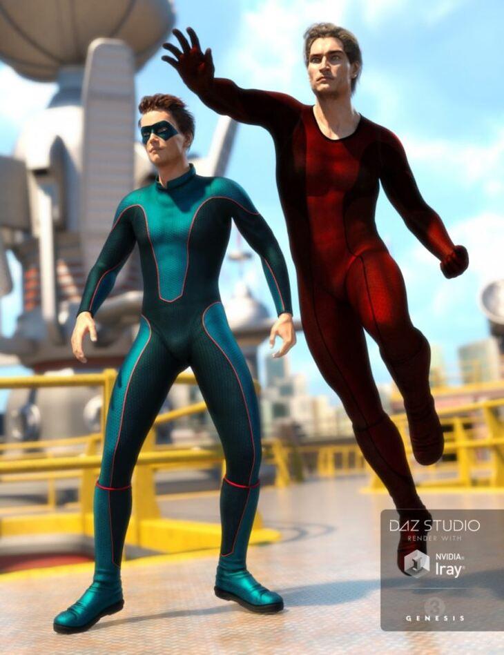 Super Bodysuit New Heroes Textures