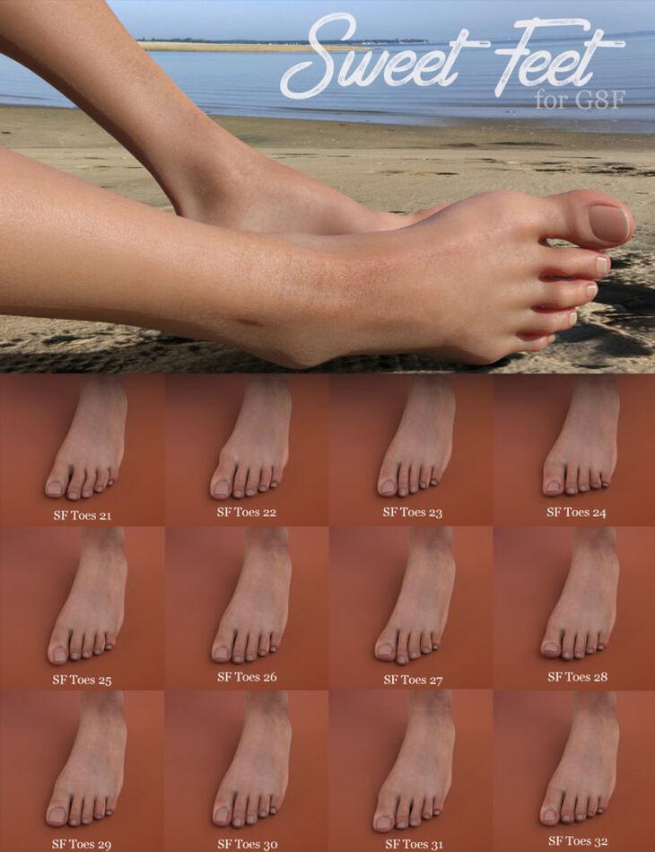 Sweet Feet for G8F