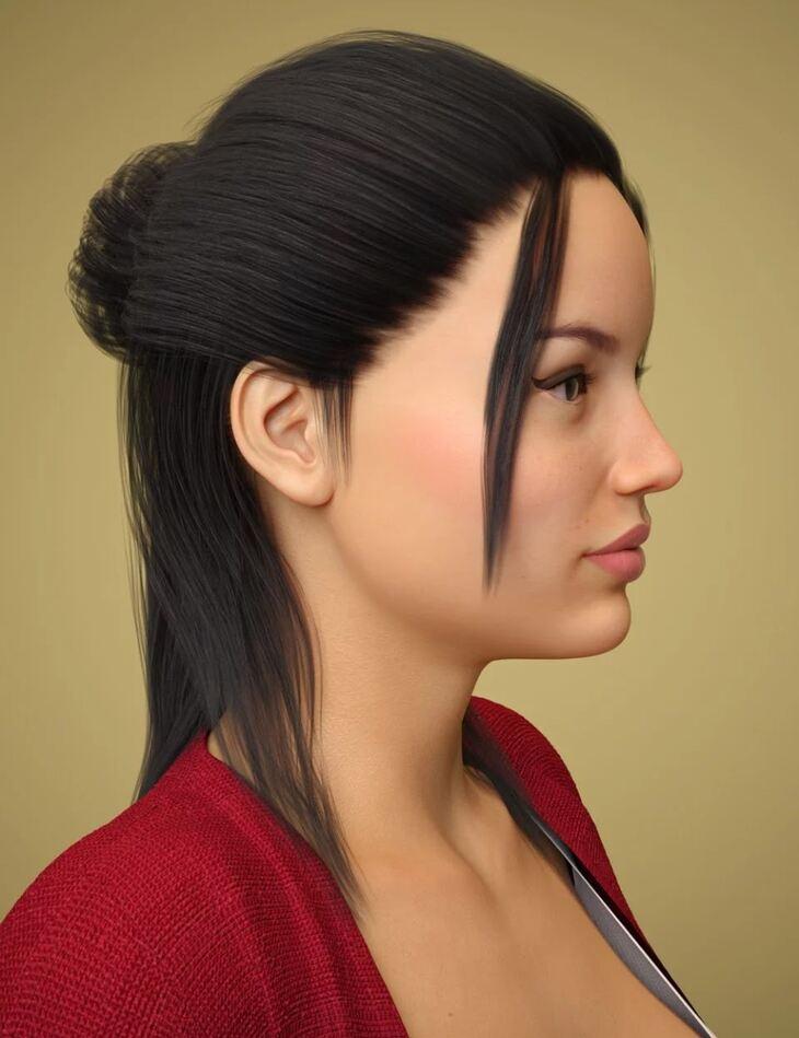 Tasha Hair for Genesis 8 Female(s)