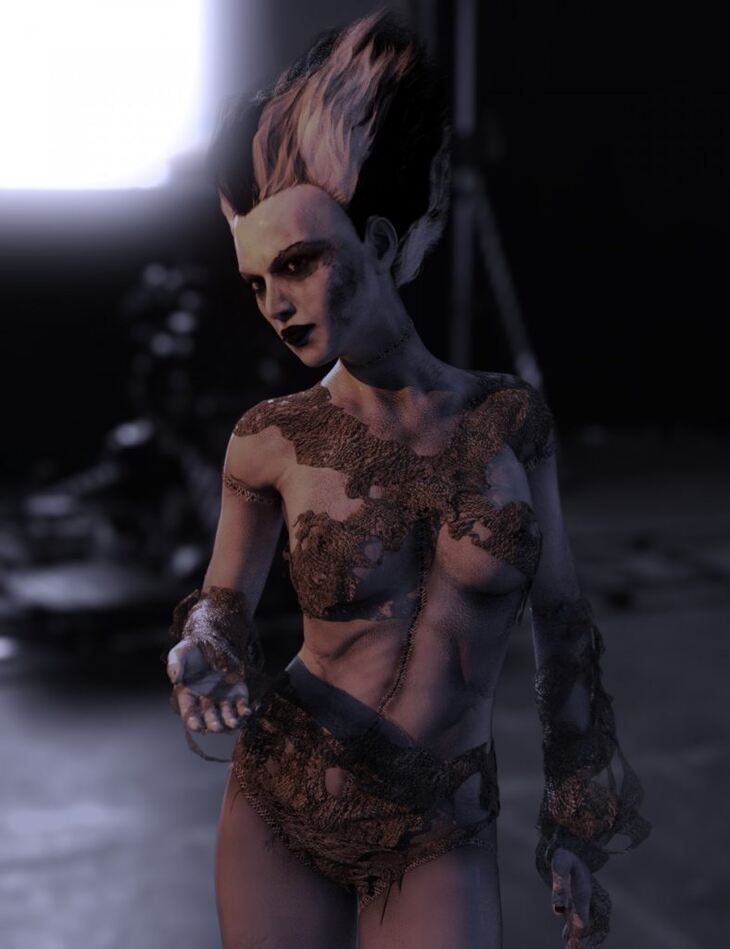The Monster Bride HD for Genesis 8 Female(s)