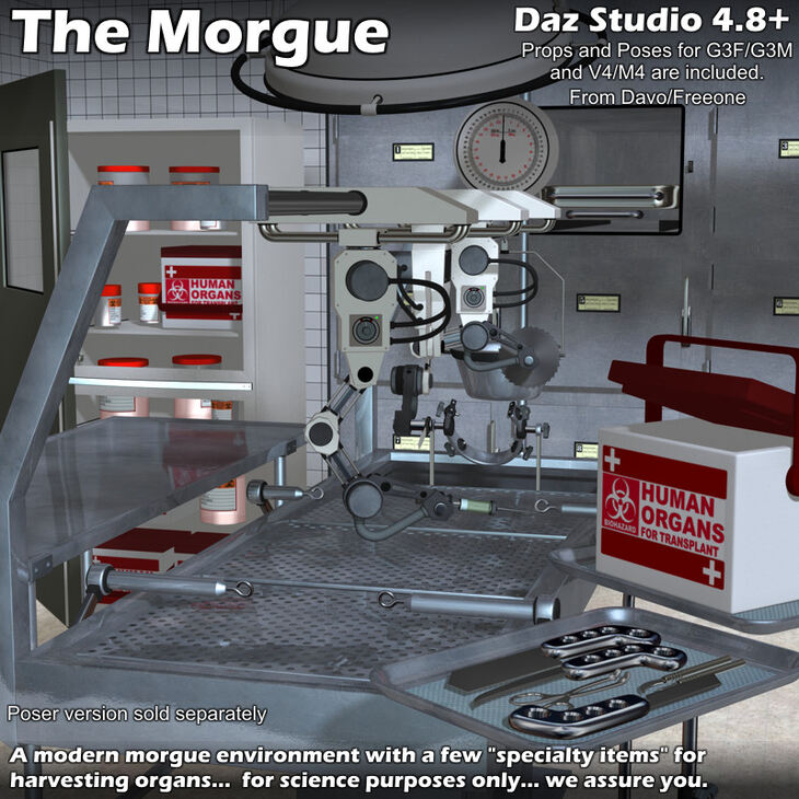 The Morgue For DazStudio 4.8+